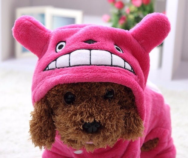 Dog Totoro Winter Clothes