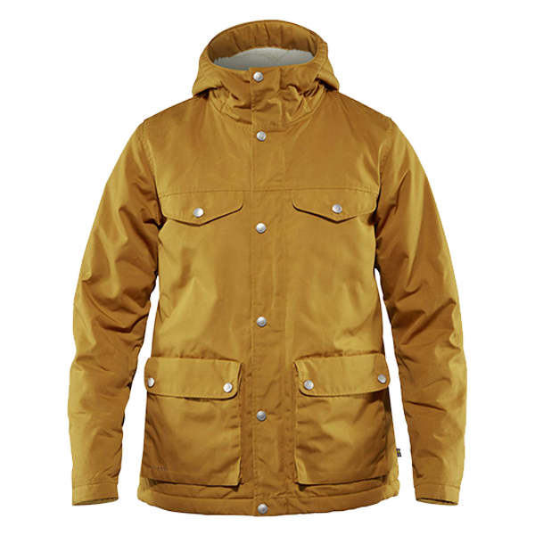 a7be6d4b2 The fabric is a densely woven mixture of organic cotton and recycled  polyester and it offers some water resistance. Thanks to its Greenland Wax  coating it ...