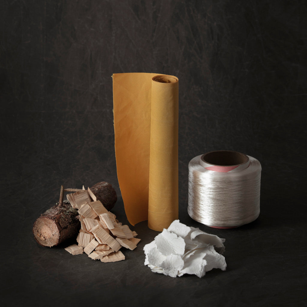 materials used to produce tree kanken