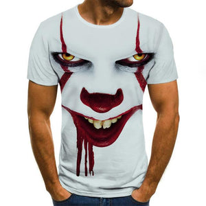 Joker 3D print men's t-shirt