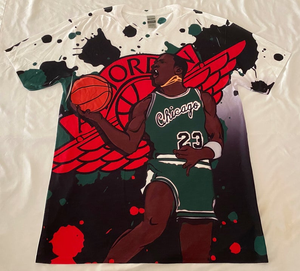 Custom Shirt Jordan 1 Retro