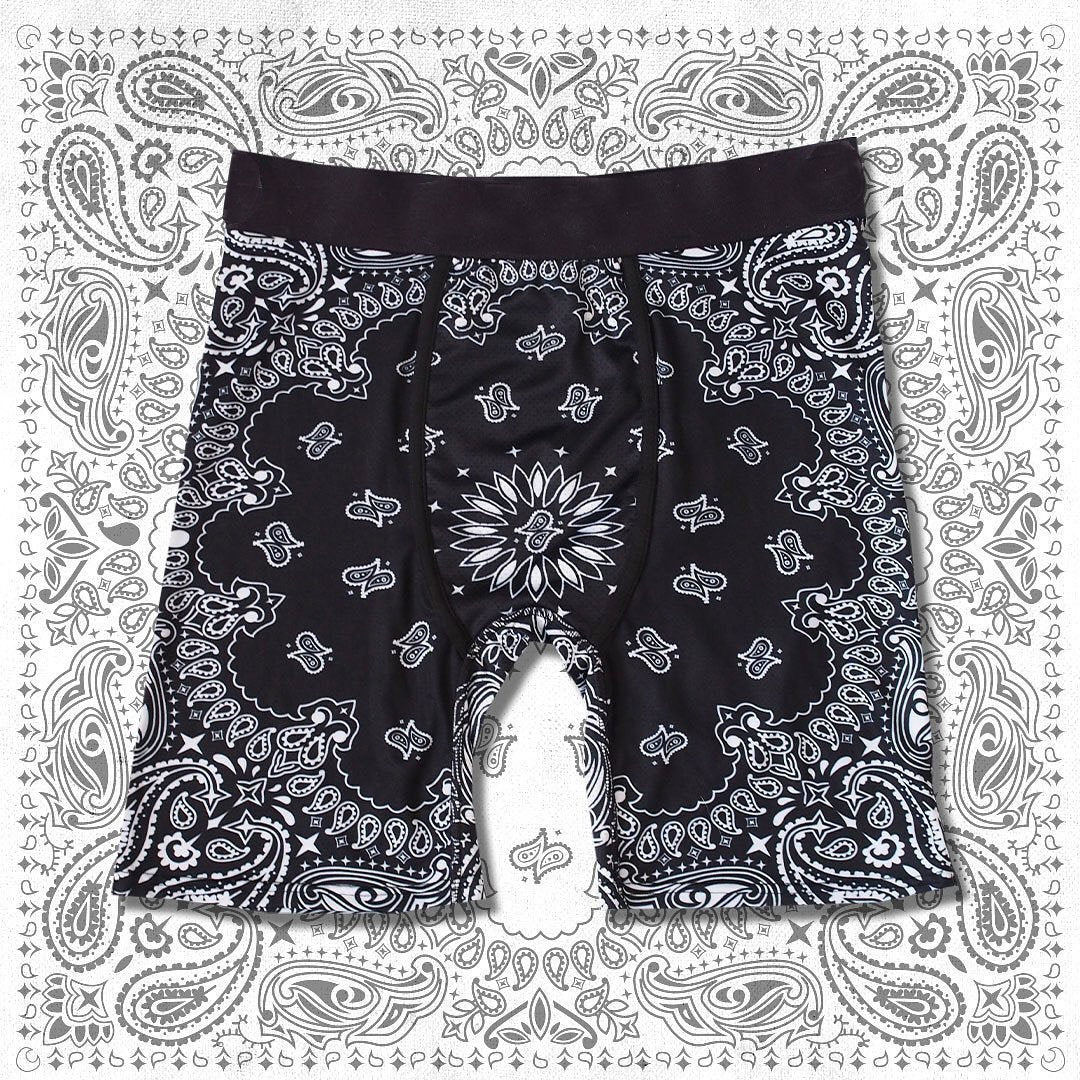 National totem printing  shorts underpants
