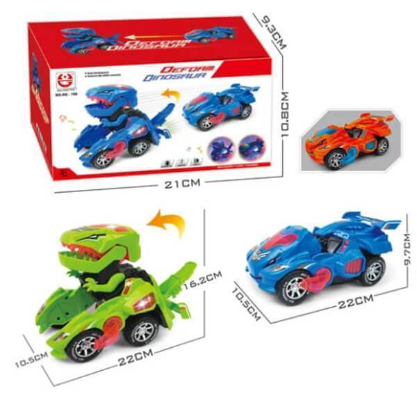 Simple™ Transforming Dinosaur Car