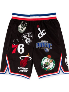 Fashion street print basketball shorts