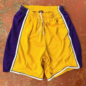Vintage casual men's shorts