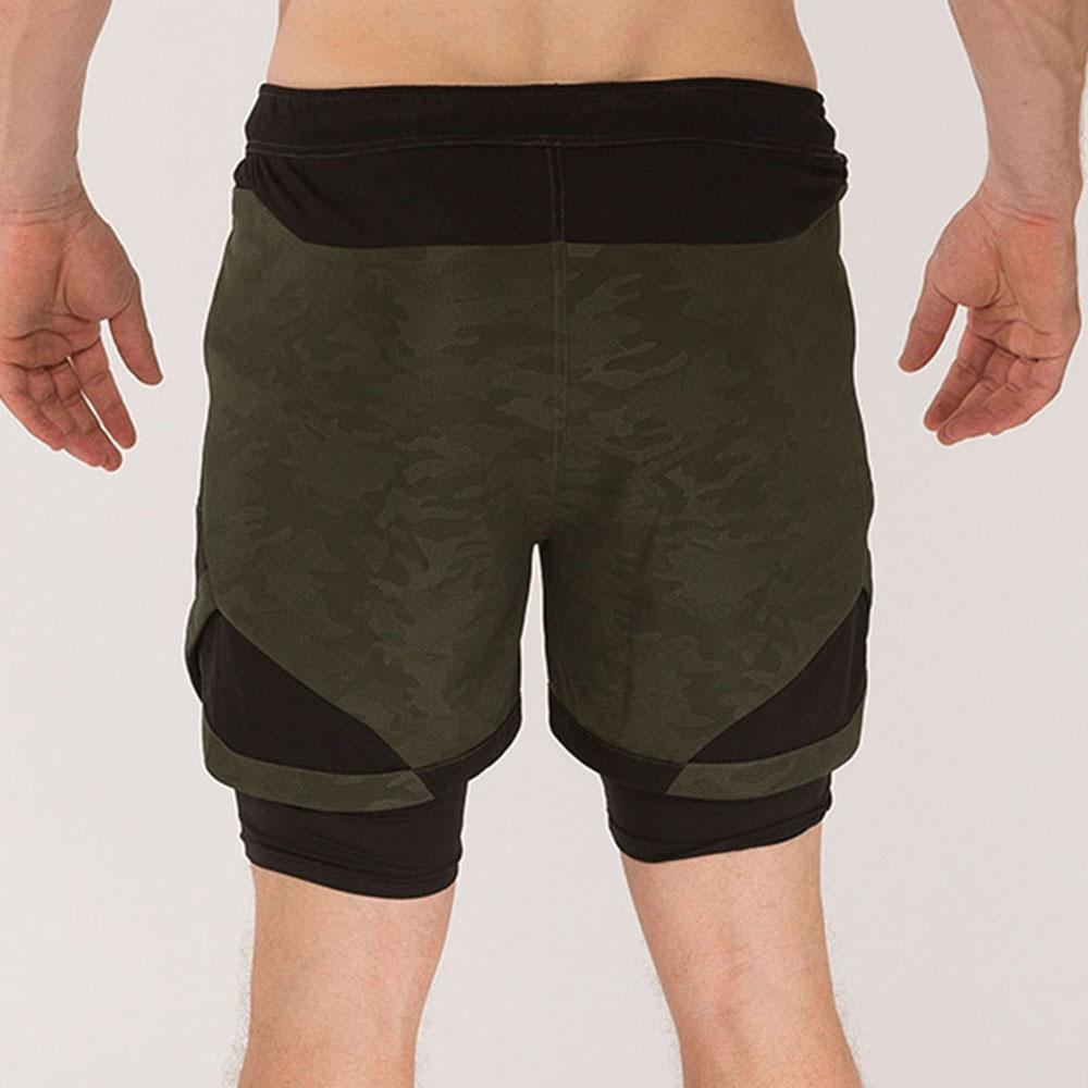 Men's sports shorts quick drying training Capris running