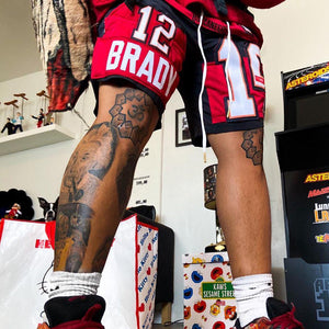 Tom Brady Tampa Bay Buccaneers jersey shorts