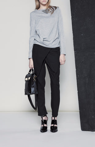 AW15/16P130 CROSS OVER PANTS