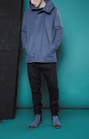 AW15/16MG17 OBLIQUE PLACKET COAT