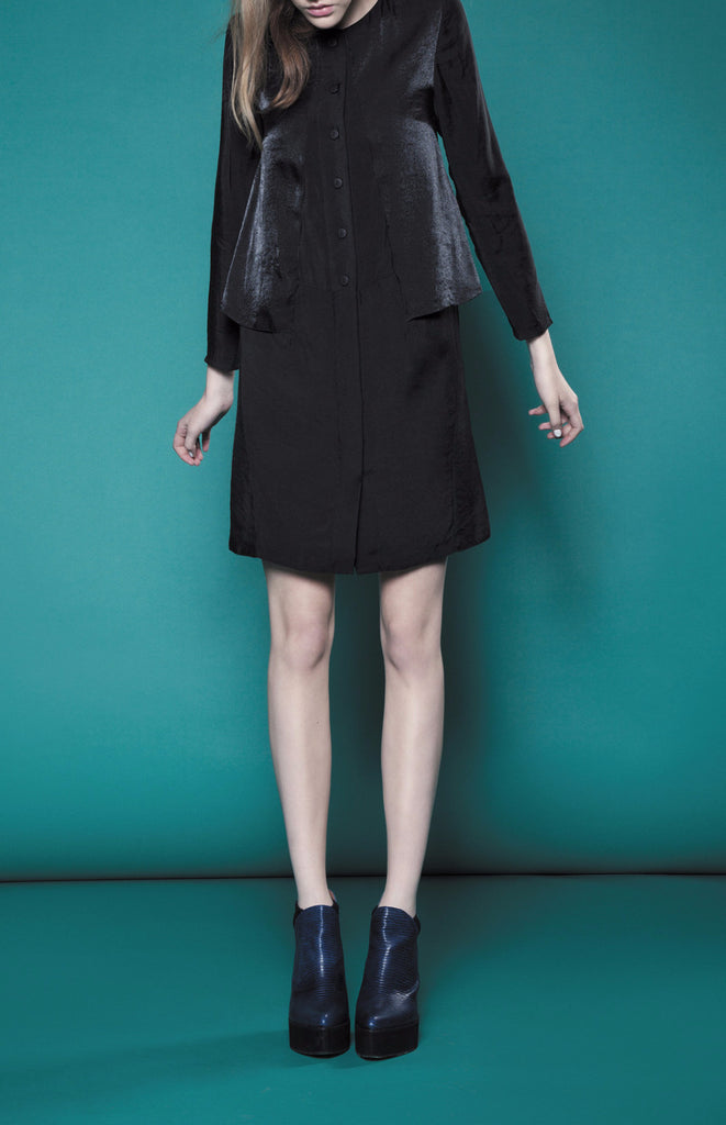 AW15/16R179 WING SHIRT DRESS