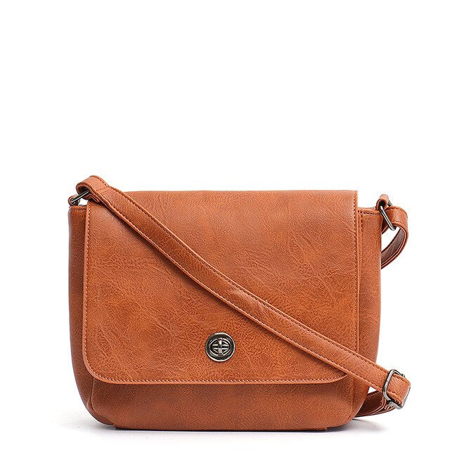 CEZIRA Vegan Leather Crossbody Messenger Bag