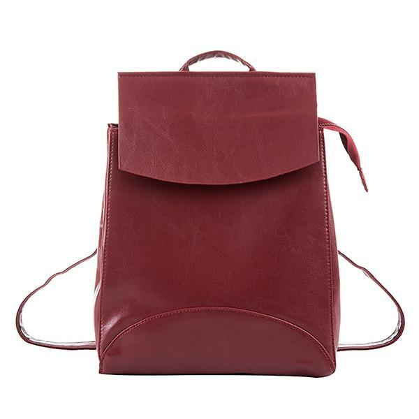 ACELURE Vegan Leather Backpack