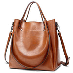 ACELURE Vegan Leather Casual Tote & Shoulder Bag