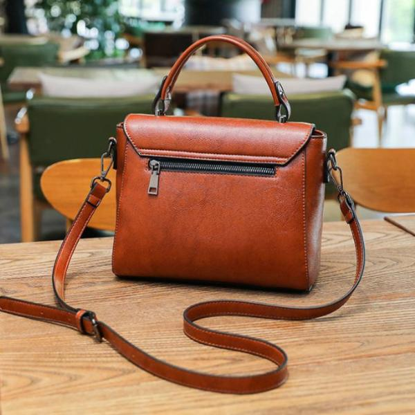 ZMQN Vegan Leather Bag