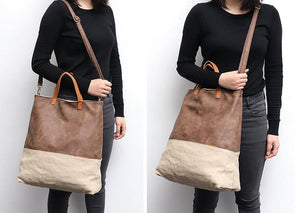 CEZIRA Large Causal Tote Bag