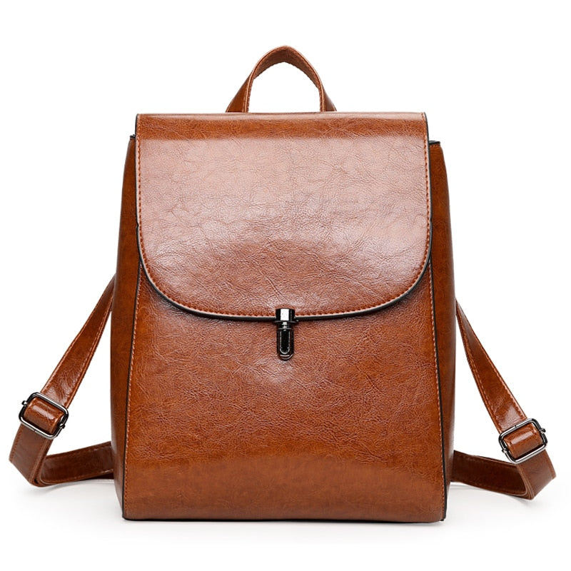 PENOLIN Vegan Leather Backpack