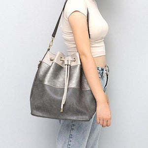 MONFERE Large Vegan Leather Tote Bag