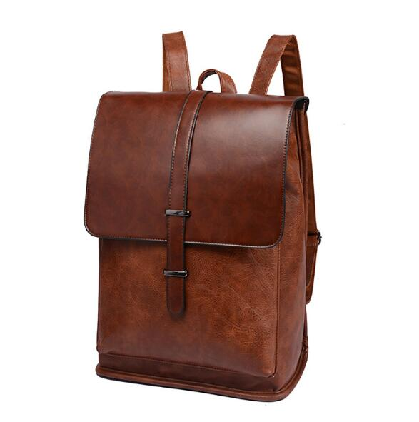 USOUL Vintage Style Vegan Leather Backpack