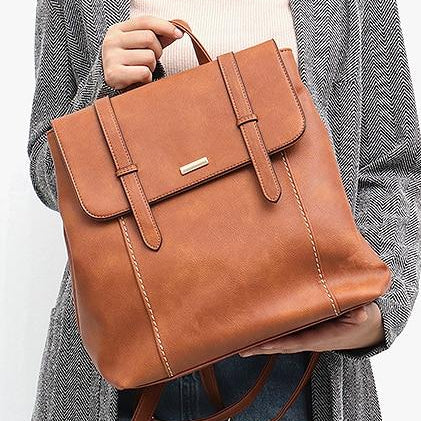 CEZIRA Vegan Leather Backpack