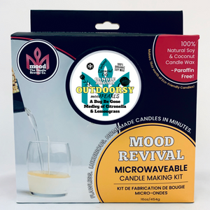 100% Essential Oil Candle Making Kit- CITRONELLA & LEMONGRASS