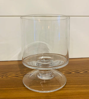 TALL GLASS OF CANDLE HOLDER