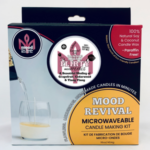 100% Essential Oil Candle Making Kit- GRAPEFRUIT, CEDARWOOD & YLANG YLANG