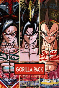Gorilla Pack - Poster A3