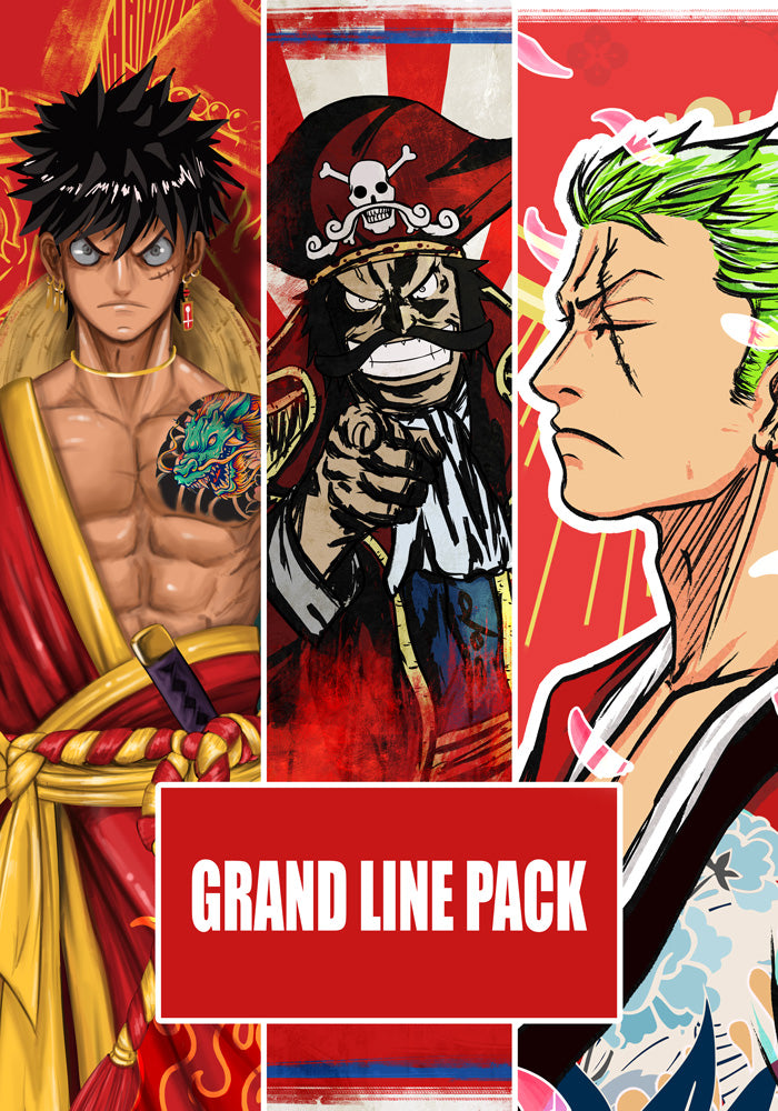 Pack Poster AR : Grand Line