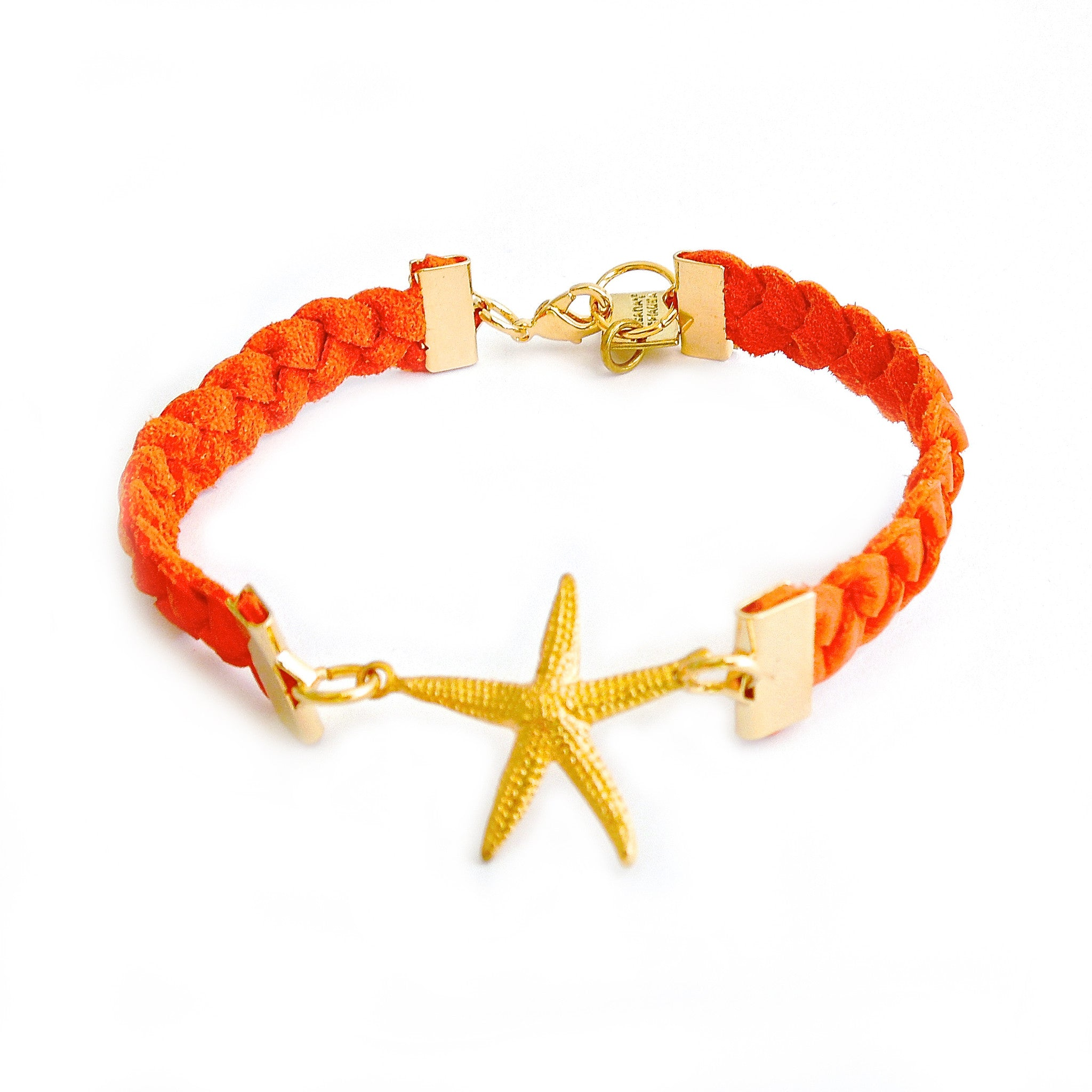 ORANGE STARFISH TOPPY