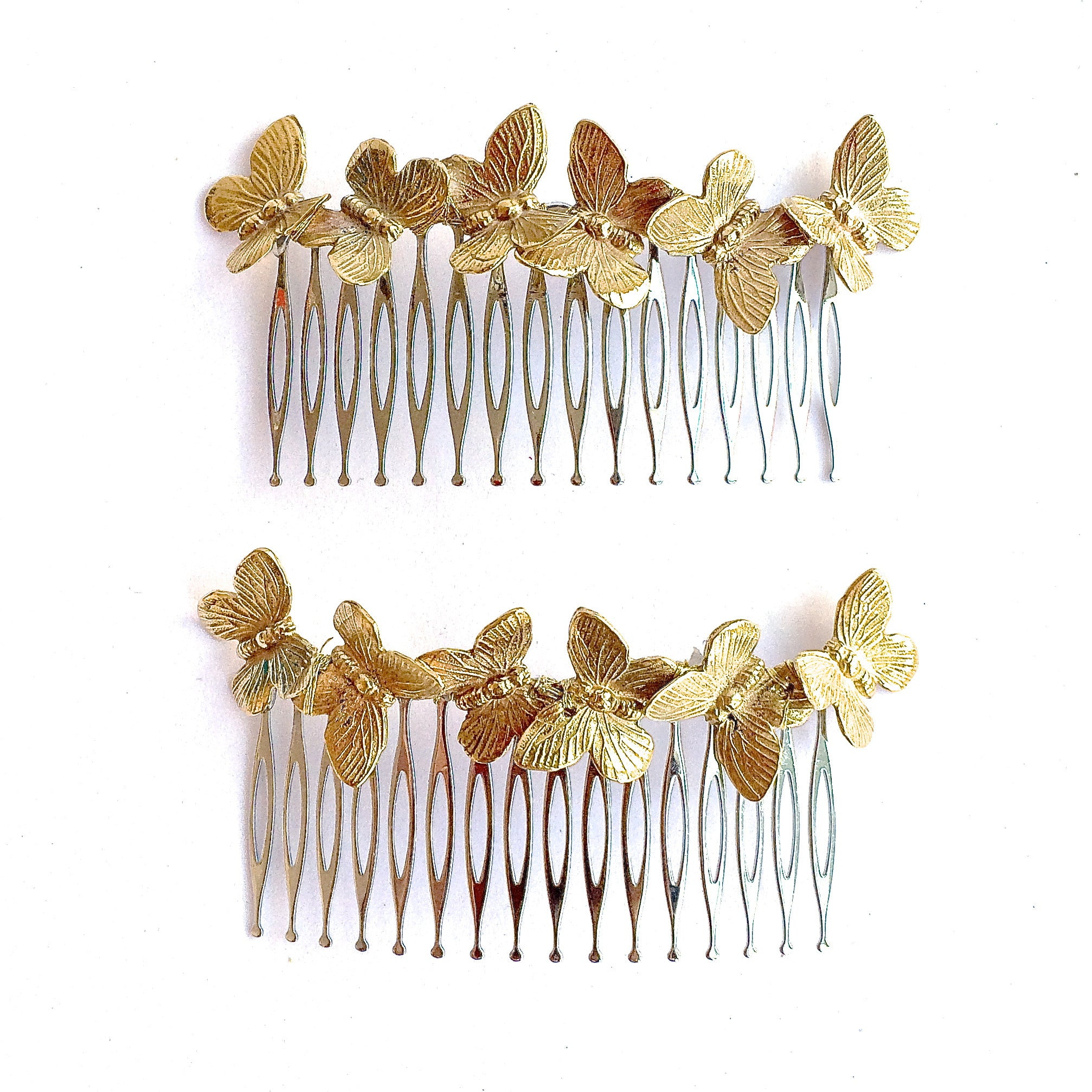 GOLD BUTTERFLIES COMB