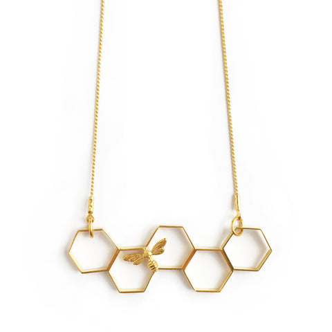 ABEJA EN ORO NECKLACE