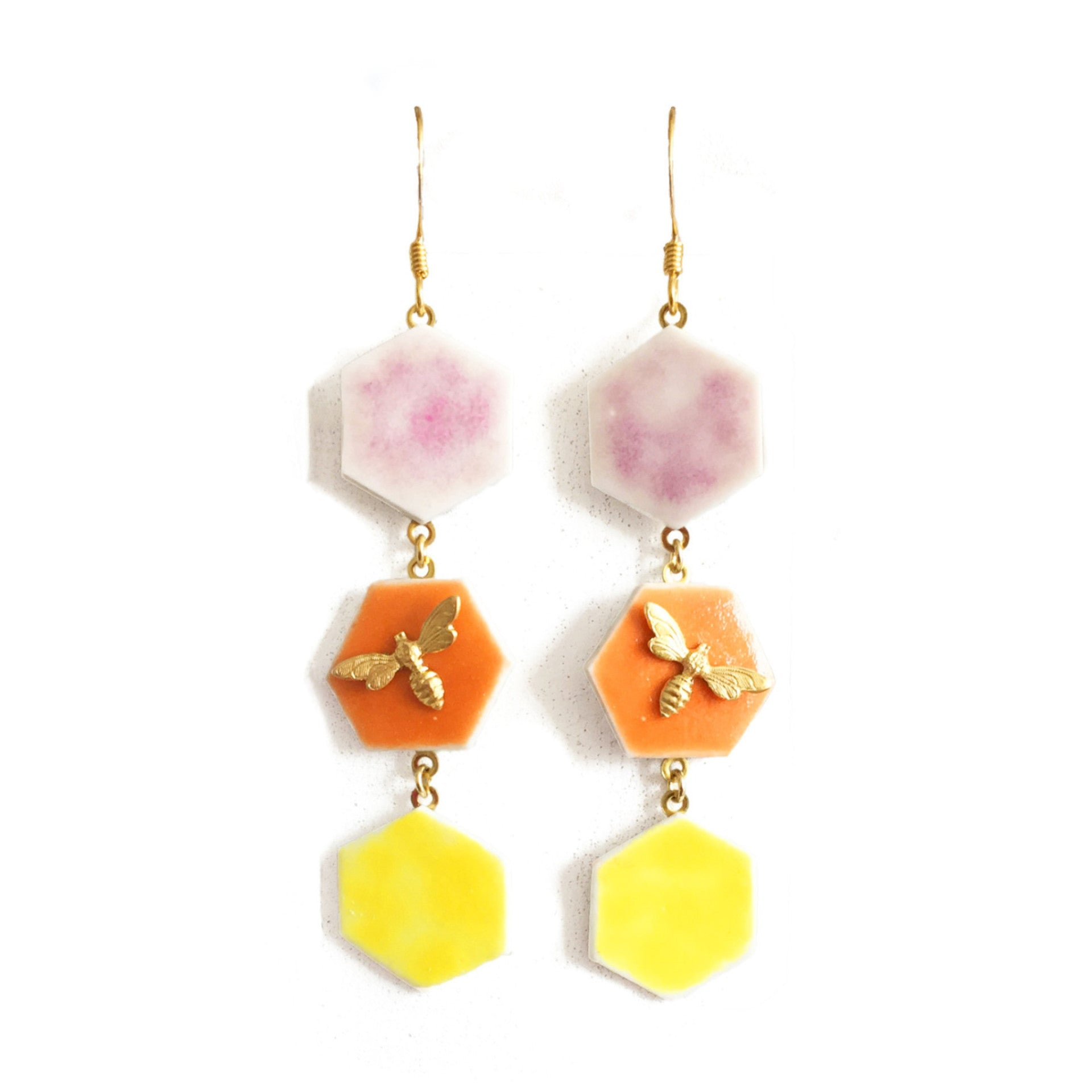 ABEJA EN CERÁMICA EARRINGS