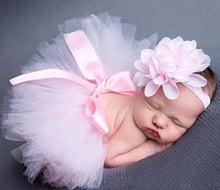 Load image into Gallery viewer, Pink Tutu Baby photo prop