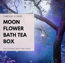 Load image into Gallery viewer, Moon Flower  Bath tea Box