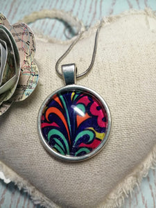 Vibrant colours necklace