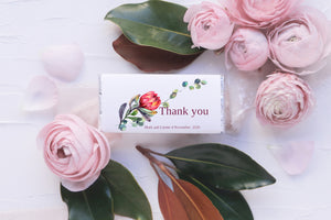Protea Chocolate wrapper