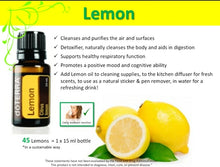 Load image into Gallery viewer, Lemon Essential oil