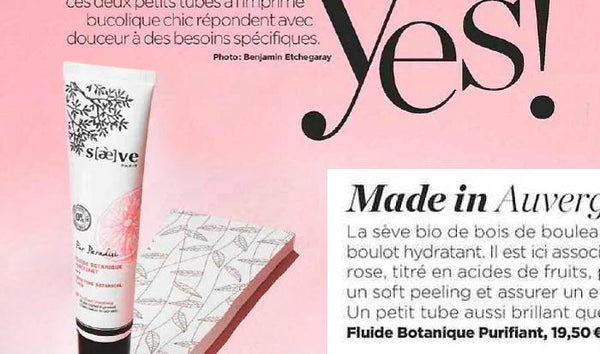 The Purifying Botanical Fluid Endorsed by Voici: a Tiny Tube as Brilliant as Mattifying!