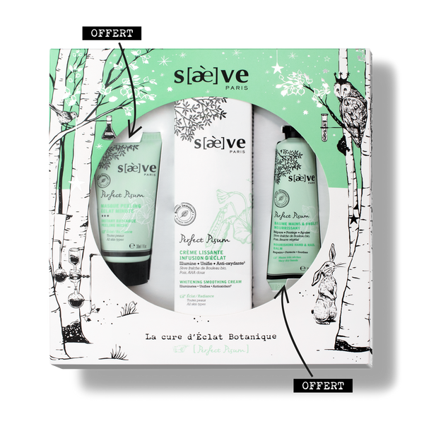 Radiance gift set Perfect Pisum, Saeve
