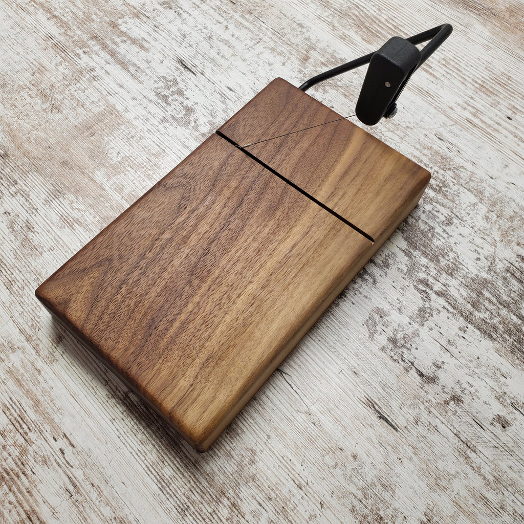 Solid walnut cheese slicers