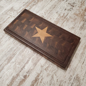 Texas star bar board
