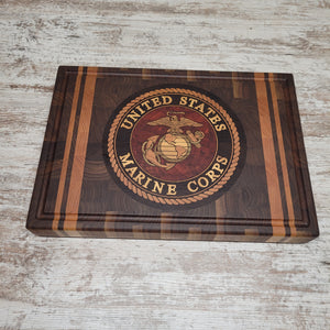 Marine Corps cutting board