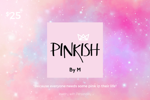 Pinkish M Gift Card
