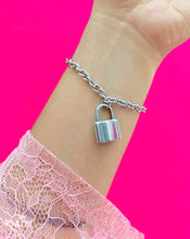 Load image into Gallery viewer, Padlock chain bracelet waterproof jewelry stainless steel