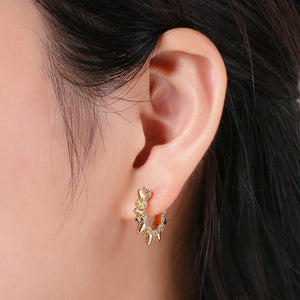 Spike Me Gold Ear Cuff Earring