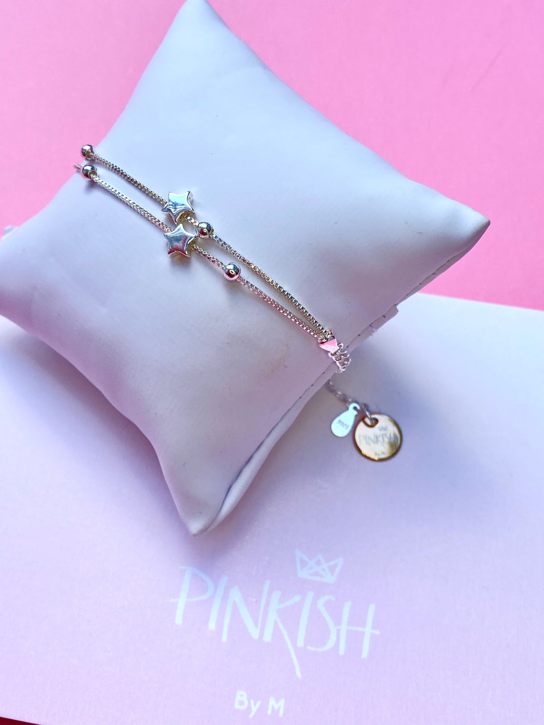 Sterling Silver Dainty Double Constellation Bracelet