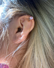 Load image into Gallery viewer, Dainty Rose Gold Ear Cuff Earring