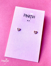 Load image into Gallery viewer, Sterling Silver Dainty Stud Earrings