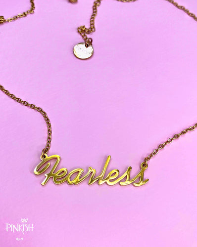Fearless Babe Necklace