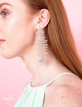 Load image into Gallery viewer, Xtra Shiny Fishbone Drop Earrings